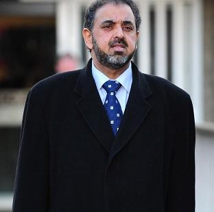 Lord Ahmed was jailed for sending text messages shortly before his car was involved in a fatal crash