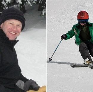 Peter Saunders, 48, and his 12-year-old son Charlie, have died in the French Alps