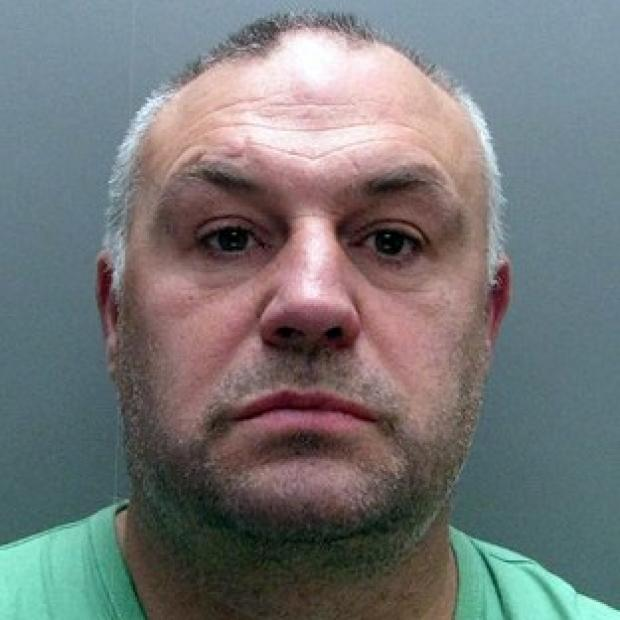 Alan Wright, 49, who was jailed for four years for his role in a wide-scale 'cash for crash' scam (Durham Police/PA Wire)