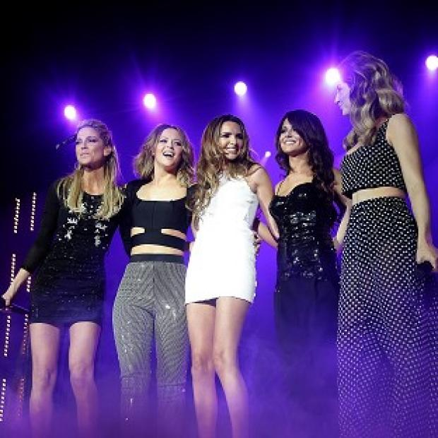 Girls Aloud reunited for the 12 date UK tour after spending three years on solo projects