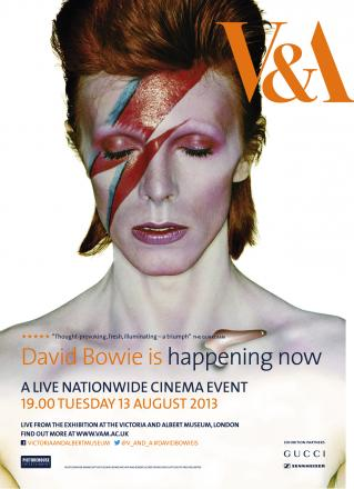 Last chance to experience Bowie exhibition at the Ludlow Assembly Rooms