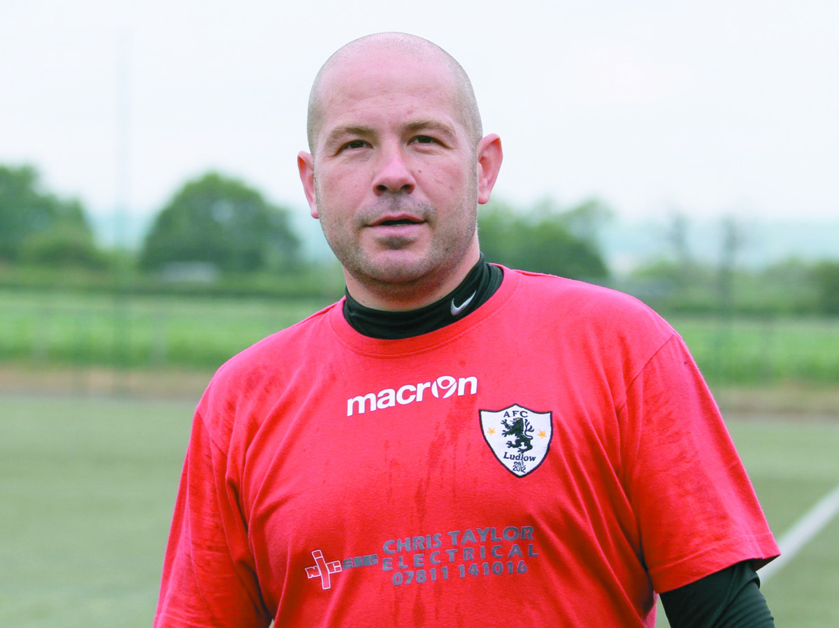 AFC Ludlow boss Dave Cooper.
