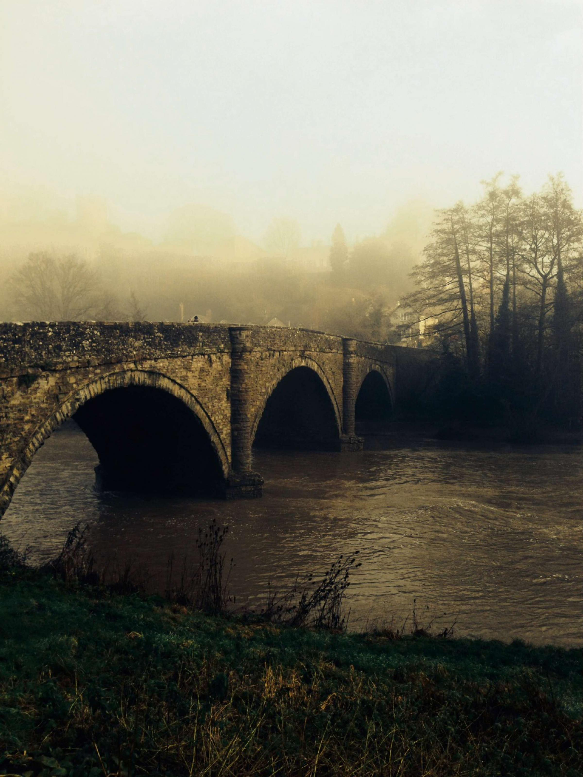 River Teme provides beautiful mid winter images