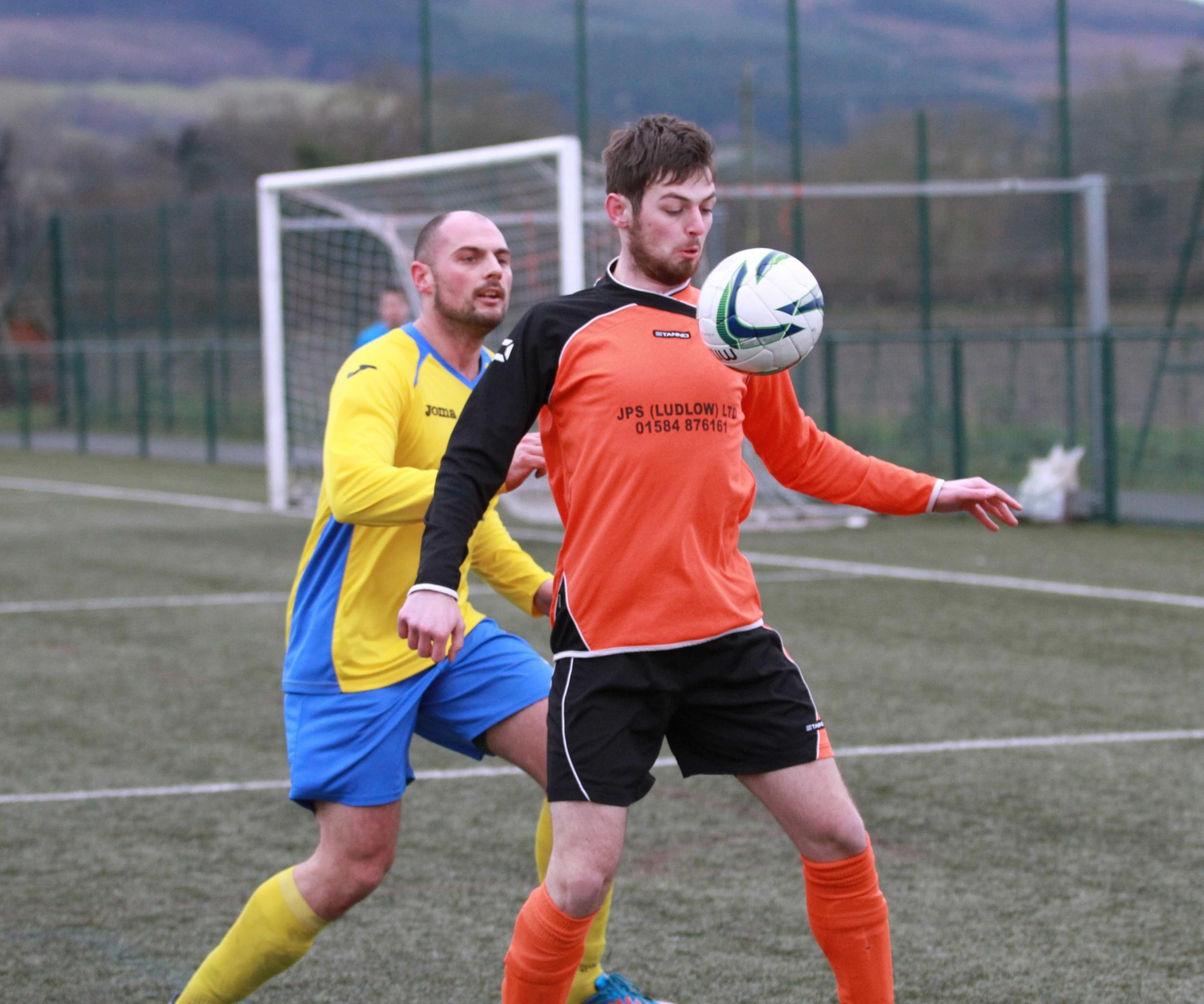 Kieron Roche saves penalty in Ludlow Town Colts' 4-2 cup success against Claverley