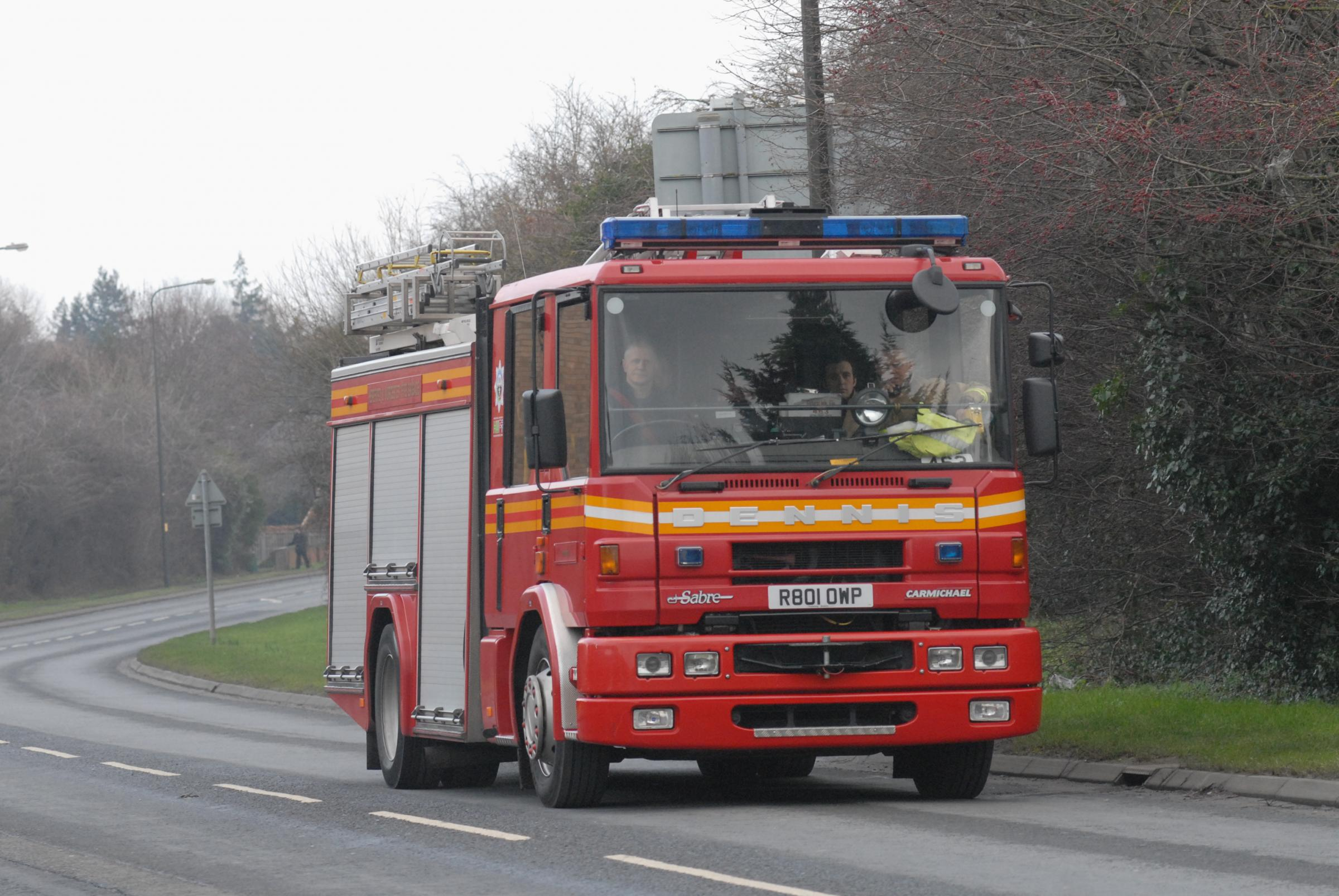 Tenbury's second fire engine has been given a reprieve.