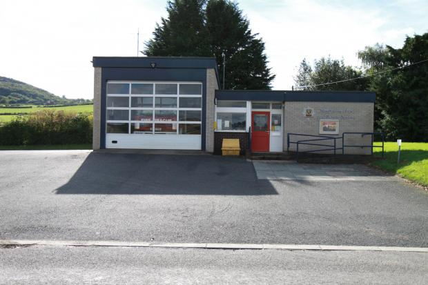 Clun Fire Station saved