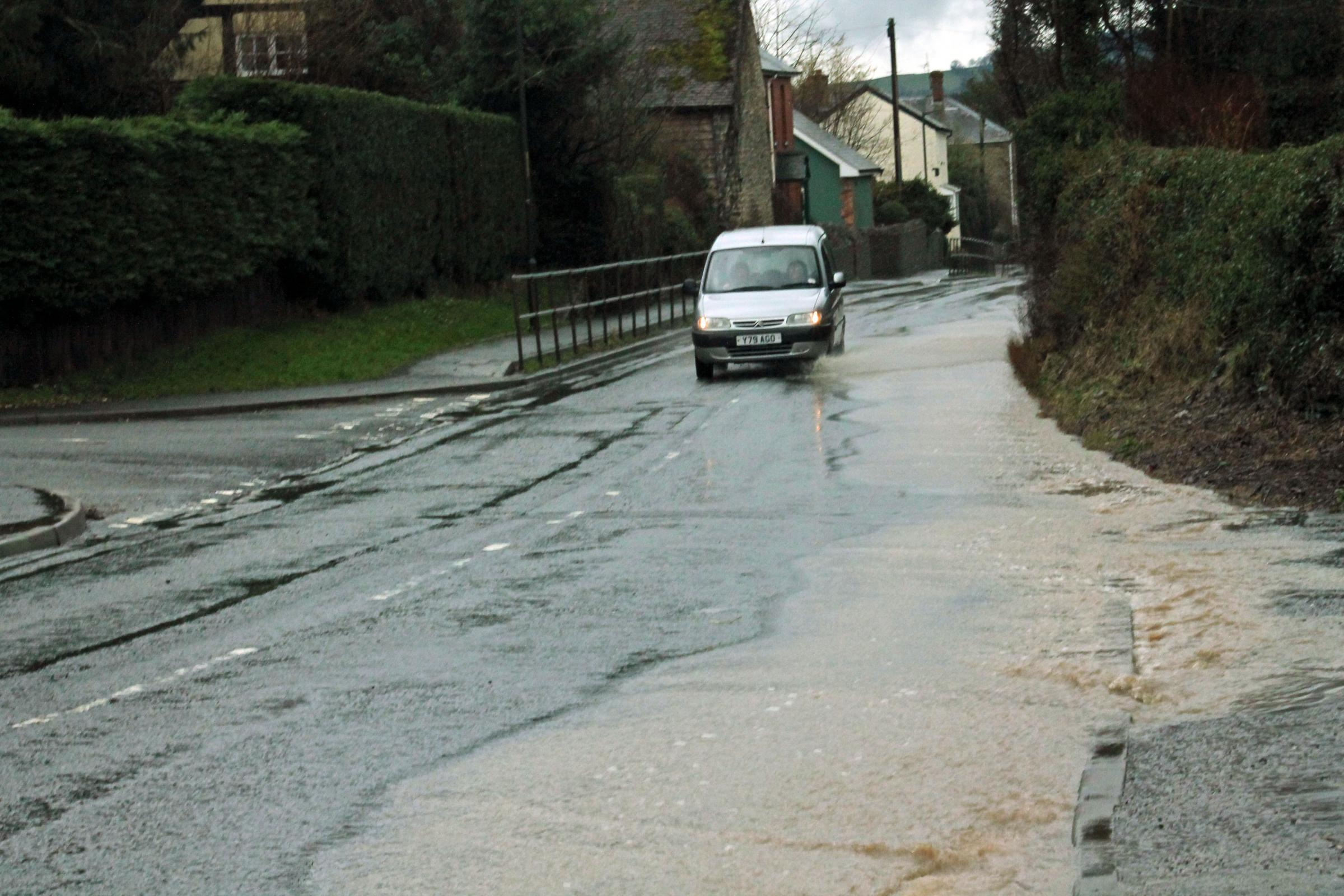 More flooding expected in south Shropshire and north Herefordshire