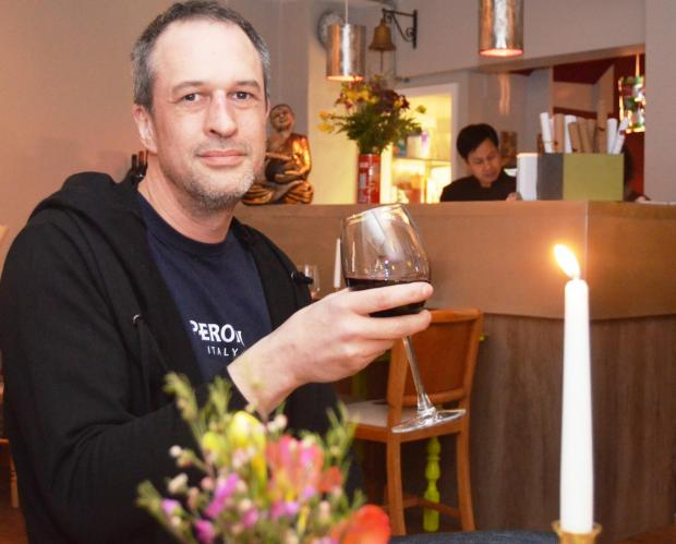 Adam Tutt, owner of the Chang Thai Restaurant in Ludlow, has collaborated with The South Shropshire Furniture Scheme.
