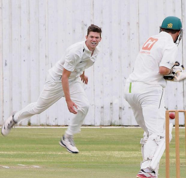 Pace bowler Matthew Kennedy is due to arrive in the UK today.  Picture: Brian Witbooi, The Herald, South Africa.