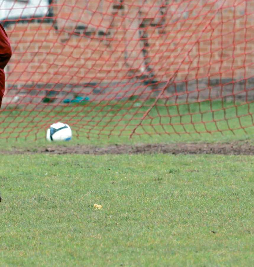 Ian Patterson, pictured, scored for Tenbury United in Saturday's 1-1 draw at Holme Lacy.