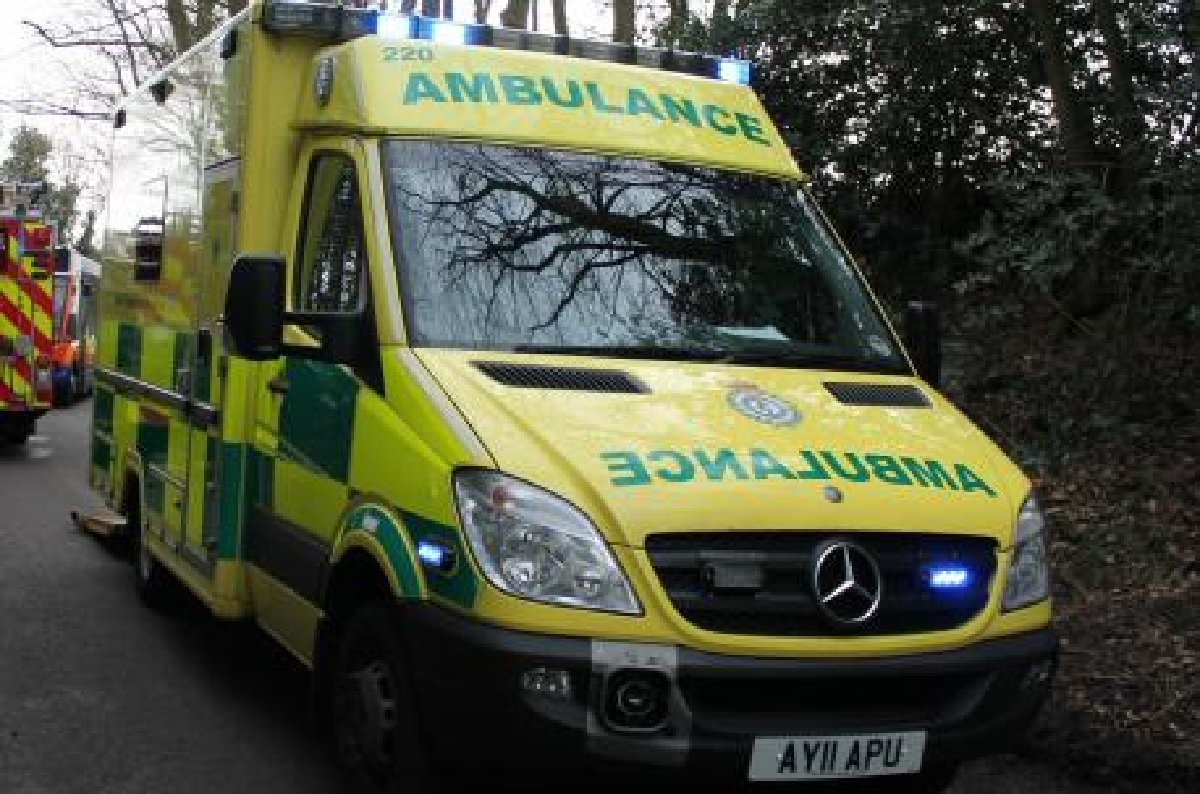 Casualties were treated at the scene of an accident near Clun.