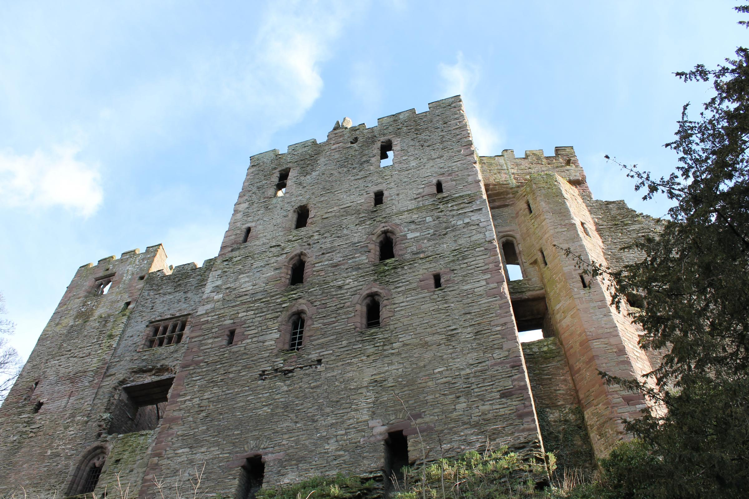 Ludlow Castle will host the town's Spring Food Festival. Picture by Mark Bowen.