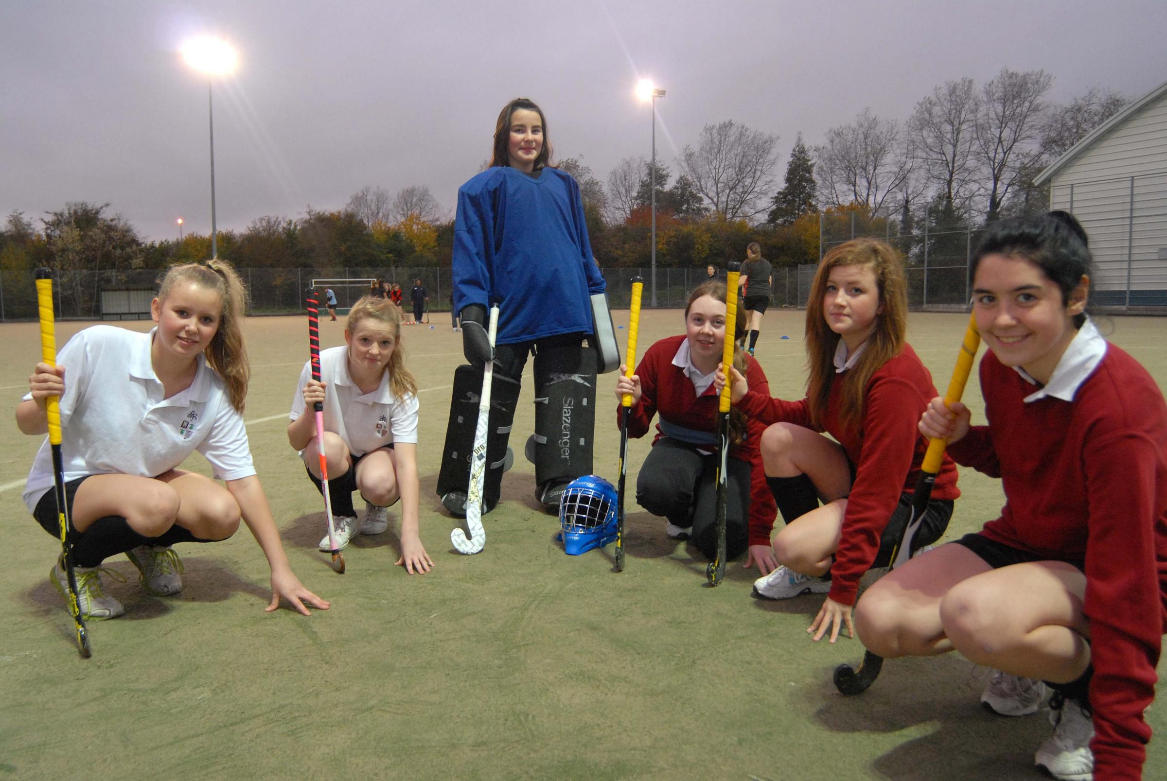 Hockey players from Tenbury High School have been helped by the Kingspan Insulation Community Trust.