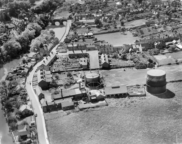 This is how Ludlow looked in 1939. Can you spot any familiar landmarks?