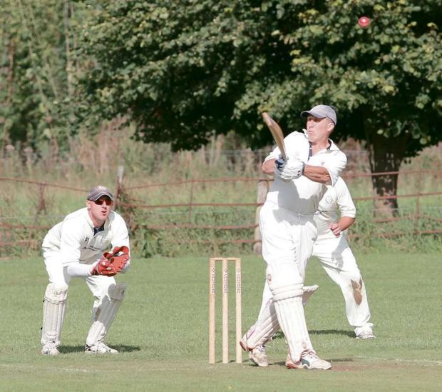 John Humphries top scored for Knighton-on-Teme with 30 runs in Saturday's defeat at Almeley.