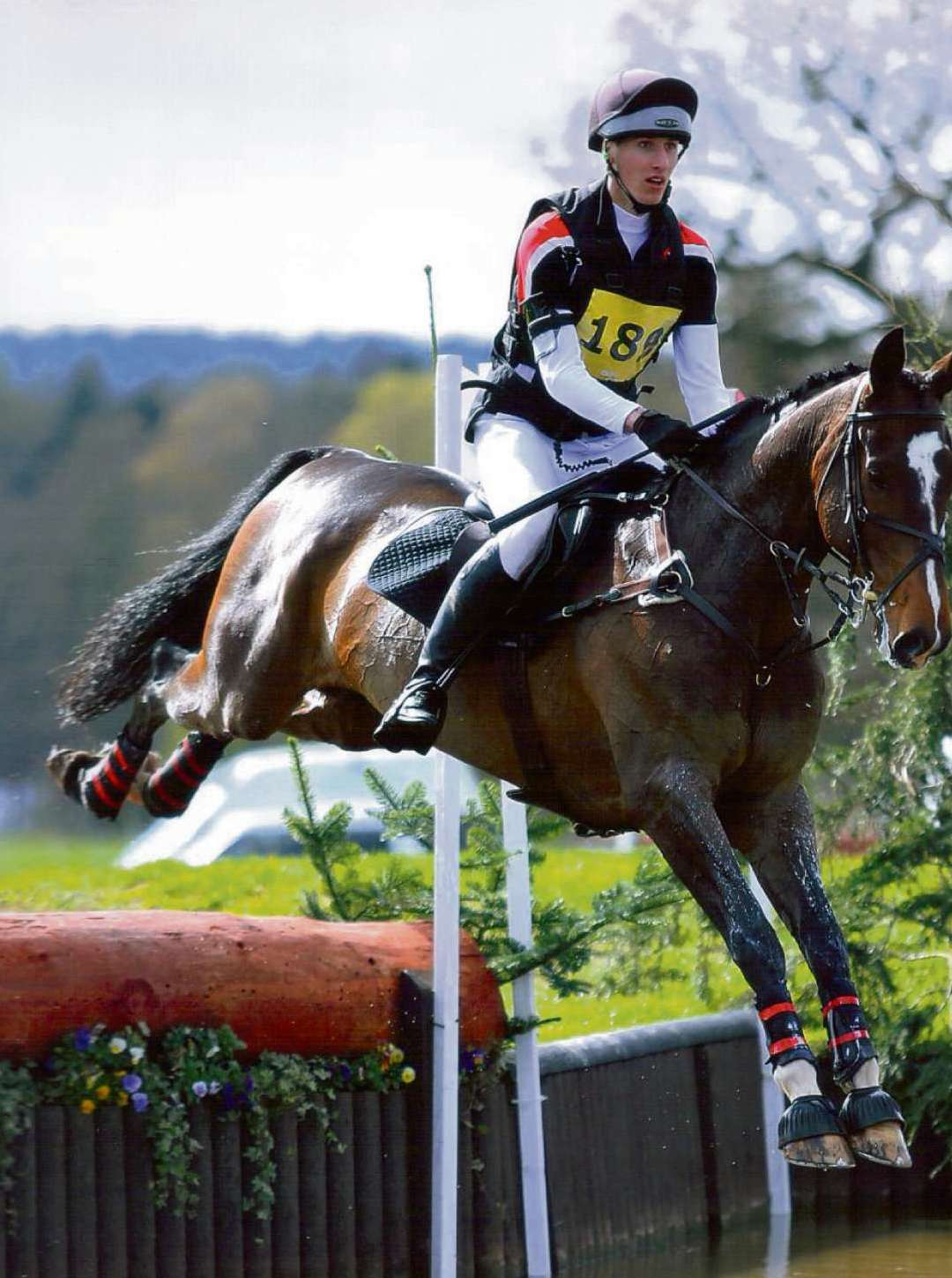 Fred Powell has been chosen to join Great Britain's under-18 junior eventing team.