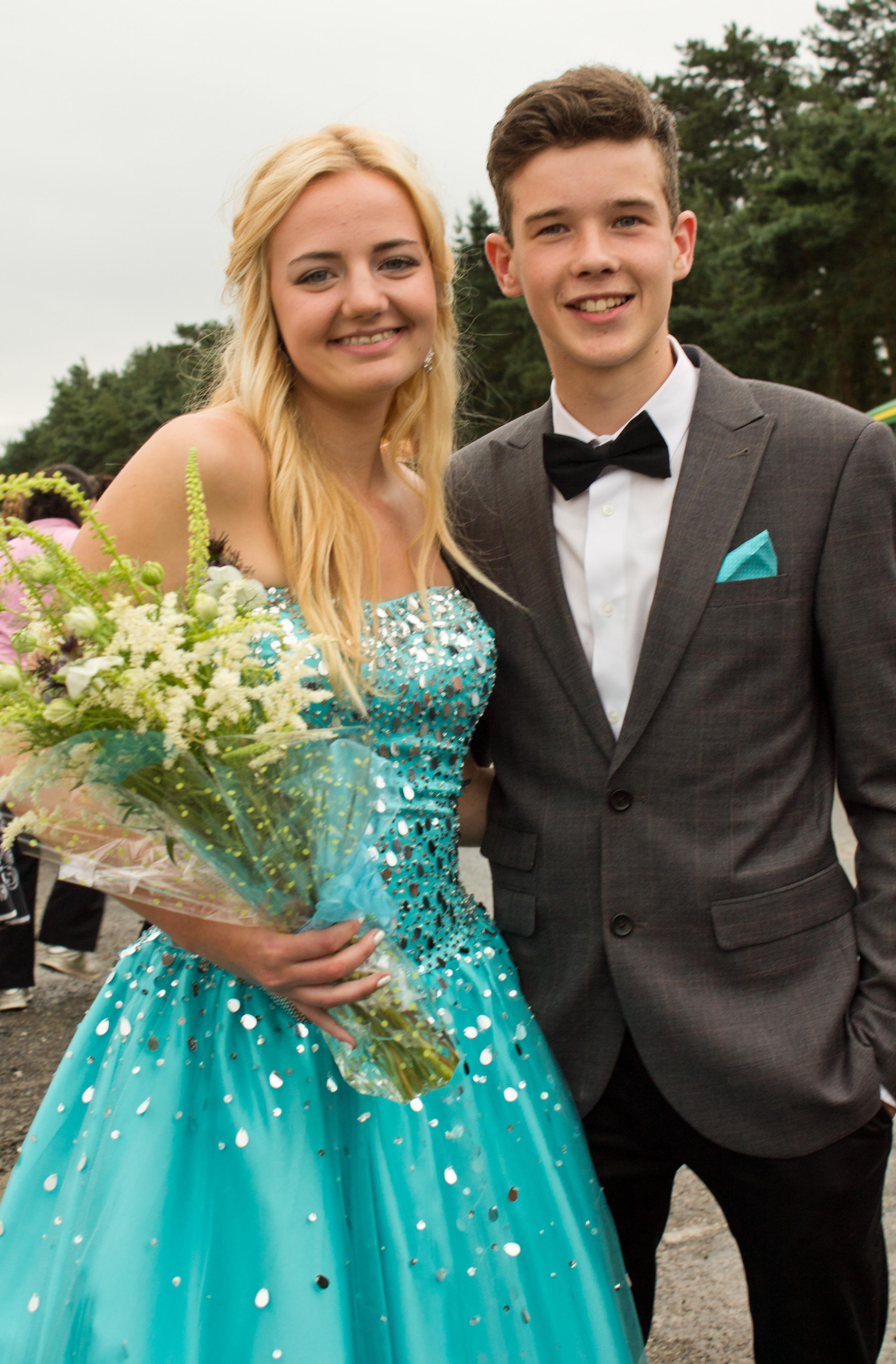 Ludlow School leavers enjoy big night out