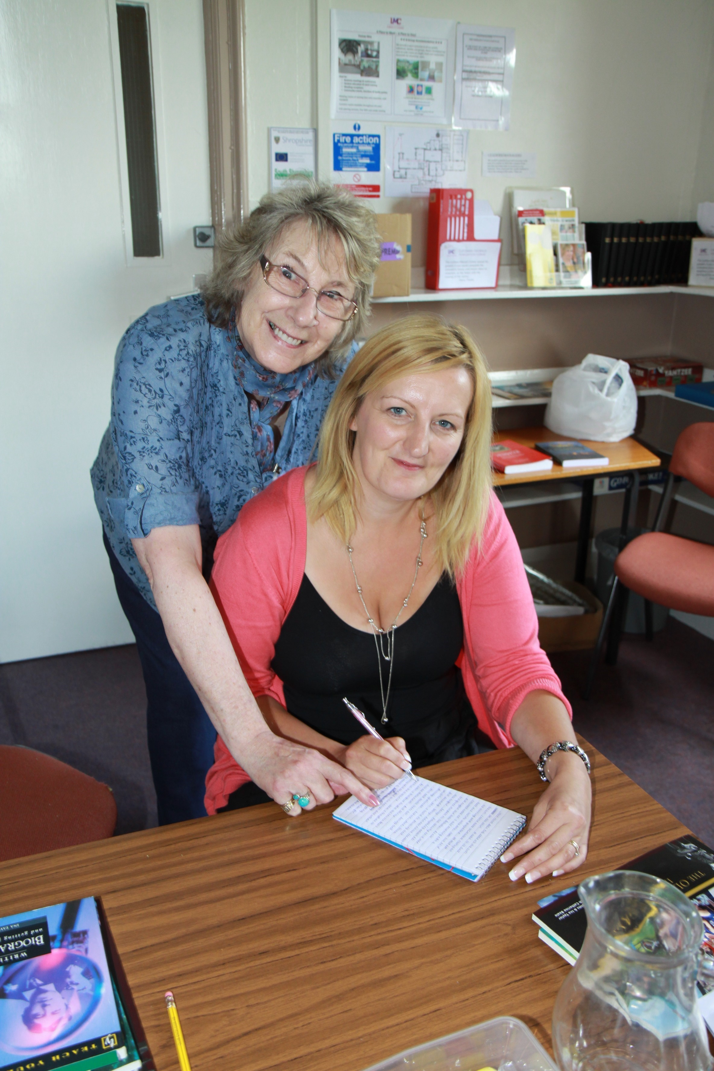 Writers' workshop at Ludlow Conference Centre