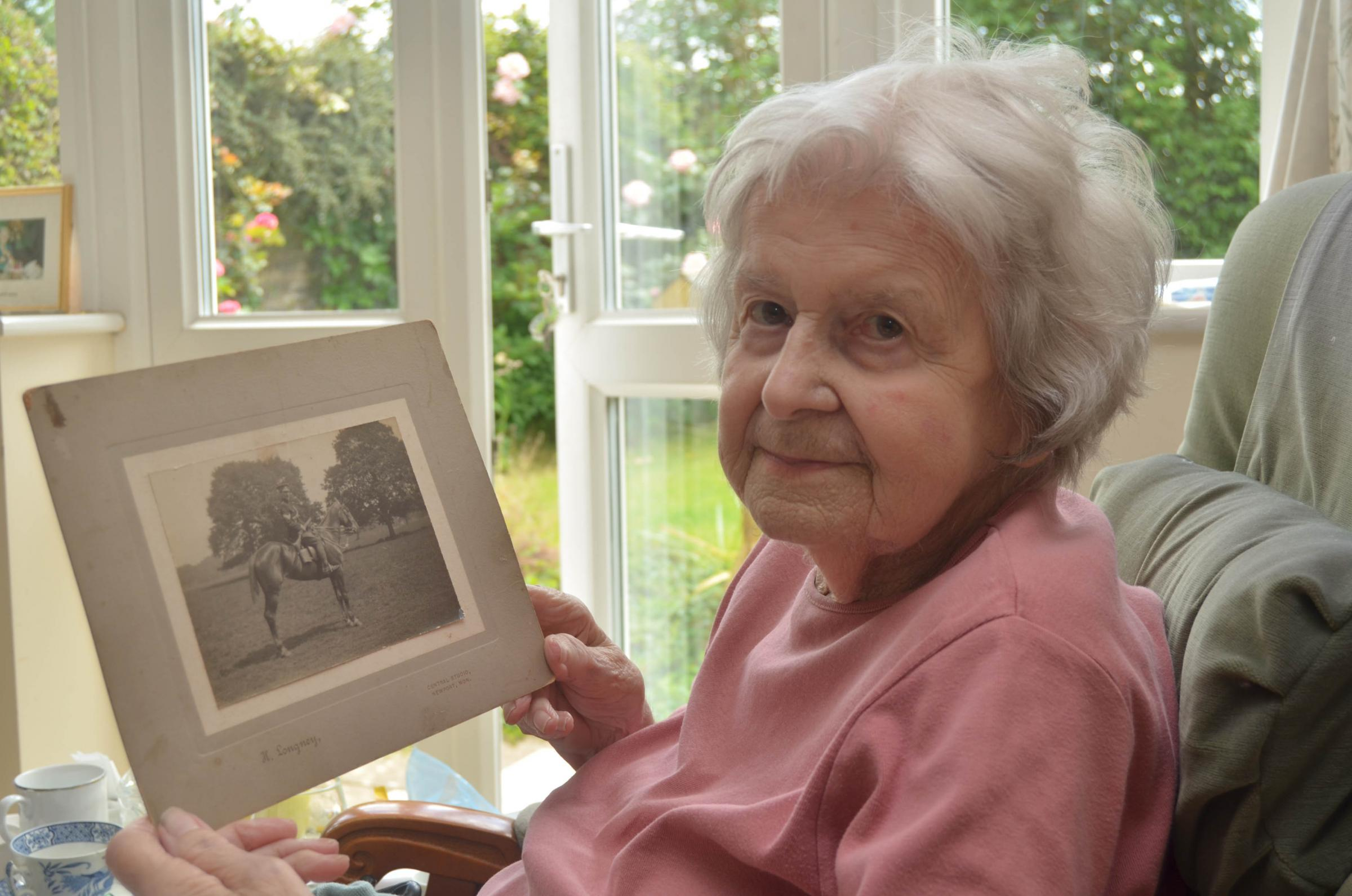 Barbara Colley from Ludlow remembers her father who served in the First World War