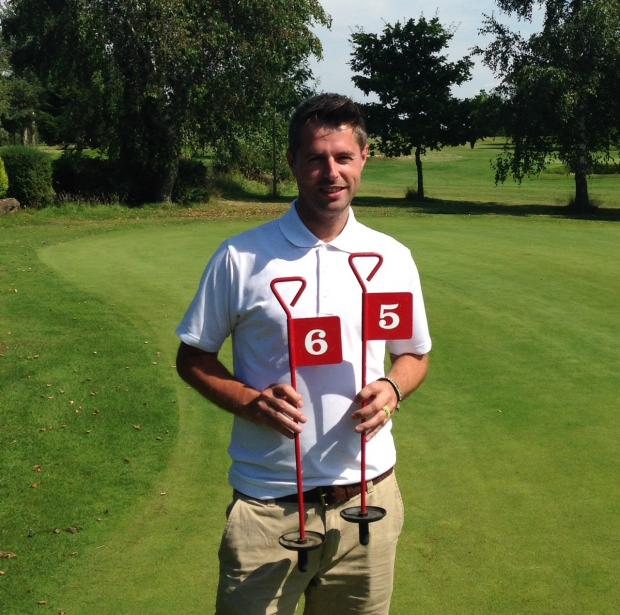 Ross Moorecroft carded a 65 to win the July London Pride Medal at Cleobury Golf Club.