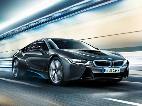 The new BMW i8.