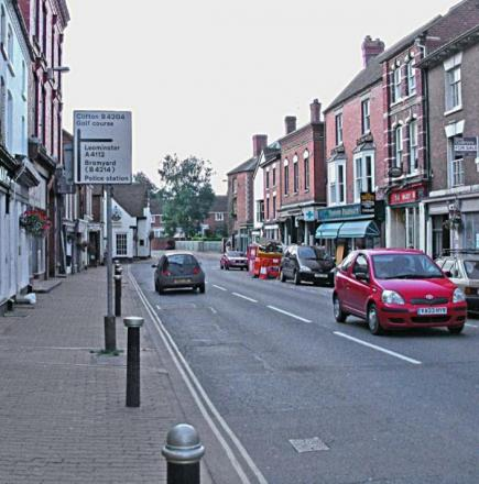 The centre of Tenbury is set to transformed by a street market.