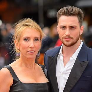 Sam Taylor-Johnson was left red-faced after police were called to her home when a passer-by spotted a machine gun on