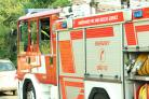 Four fire engines were called to an accident in Craven Arms.