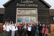 The team at Ludlow Food Centre celebrates another accolade.