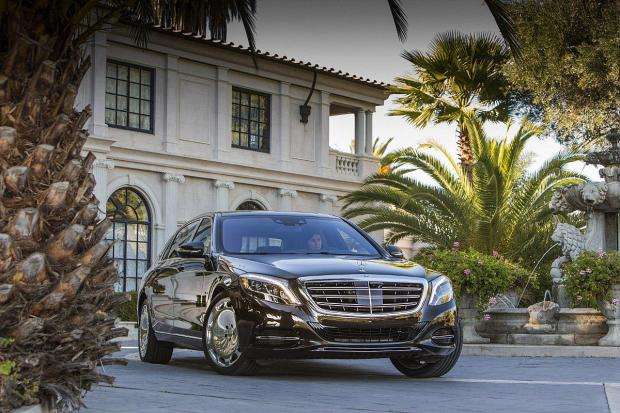 Sheer luxury: The Maybach