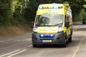 Man released from under tractor near Church Stretton
