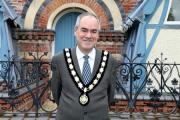 Mark Willis has been re-elected as mayor of Tenbury for a second year