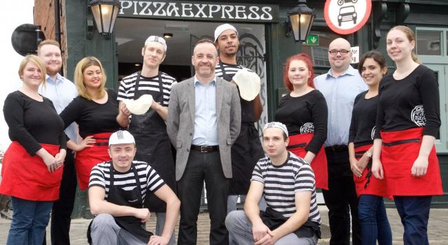 Ludlows New Pizza Express Restaurant Due To Open Its Doors