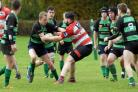 Tenbury's Craig Parkes scored a try in the win against Stourport