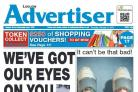Buy your Advertiser today for the £250 shopping voucher competition
