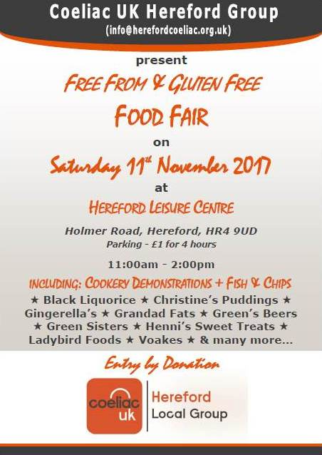 Gluten-Free & Free-From Food Fair