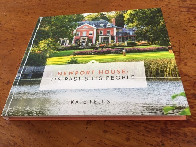 Newport House in Almeley, setting for the third Out of Nature exhbition, is the subject of a new book by historian Kate Felus