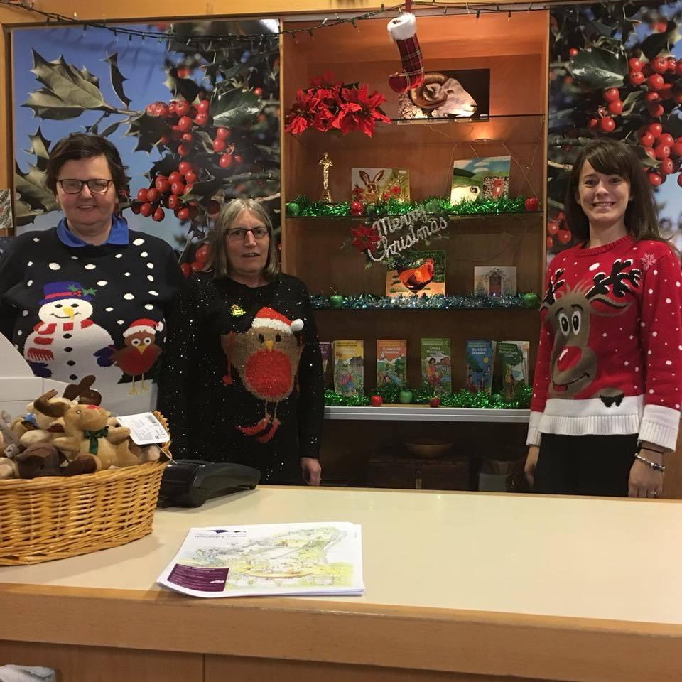 Staff at the centre support Christmas Jumper Day