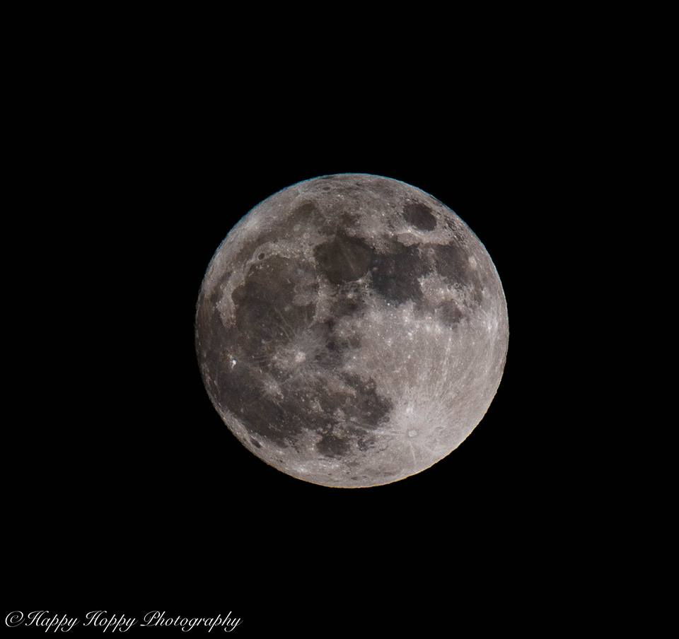 Tonight's super moon. By Adam 'Hoppy' Hopkins, ‎Hereford Times Camera Club