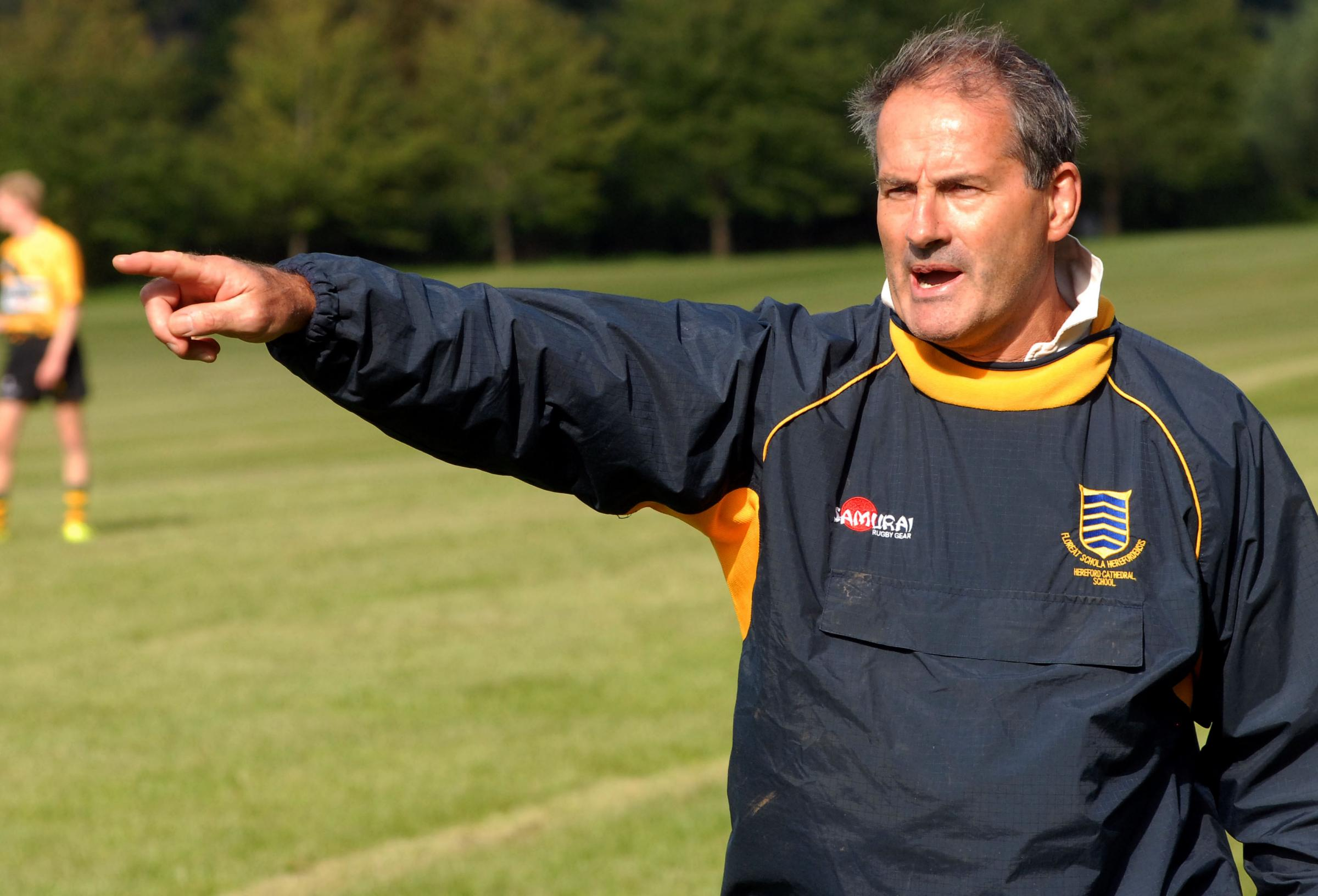 Tenbury RFC head coach Andy Black
