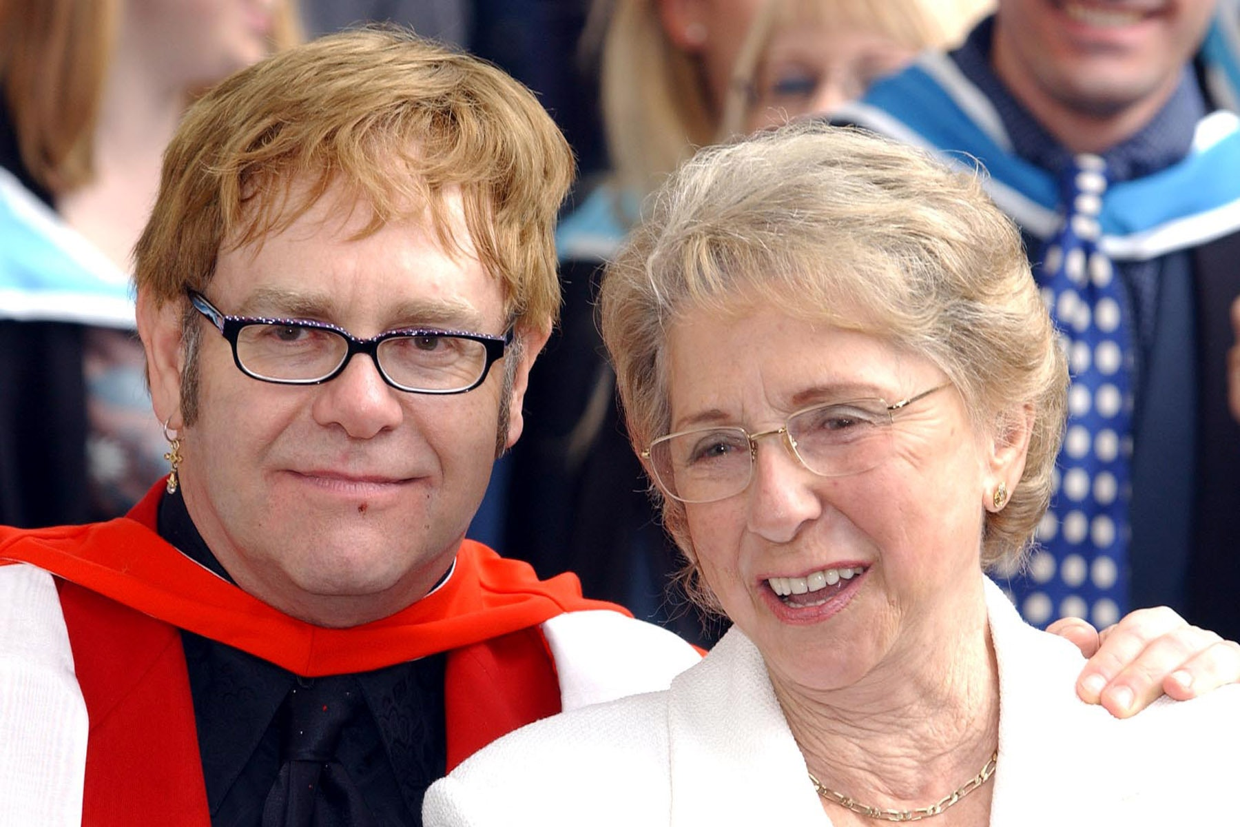 Sir Elton John paid tribute to his mother after her funeral (Andy Butterton/PA)