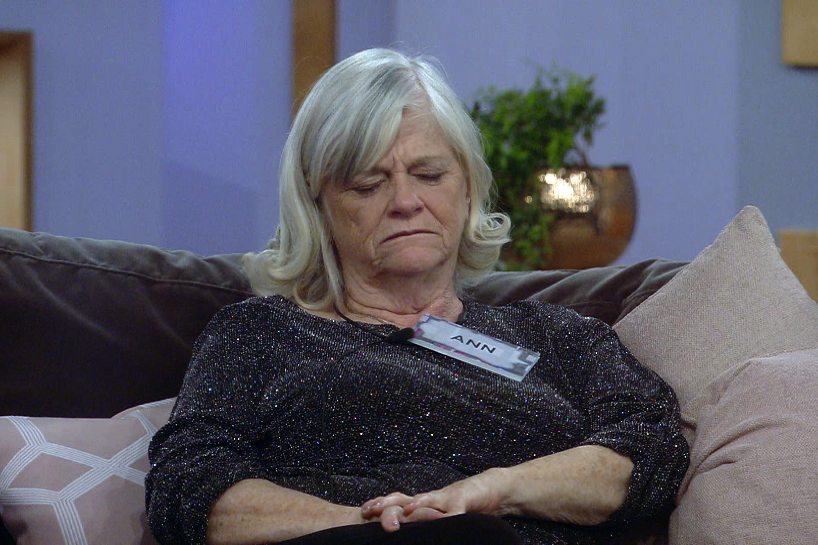 Ann Widdecombe shared her views in CBB (Channel 5)