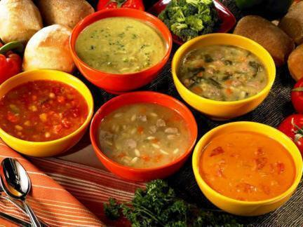 Hot and health food is important in cold weather