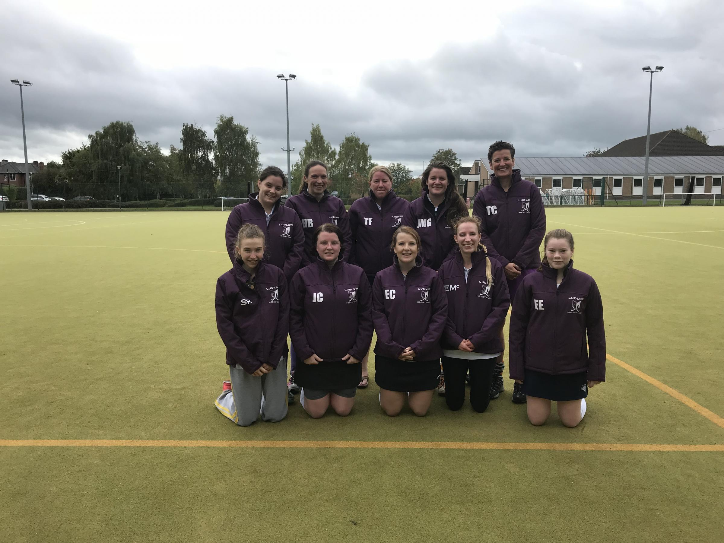 Ludlow Ladies claimed their first win of the season