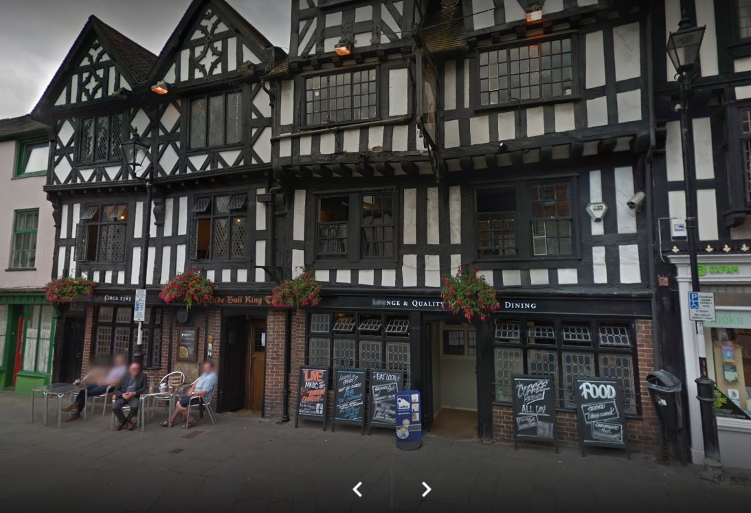 Ye Olde Bull Ring Tavern in Ludlow. Photo from Google Maps