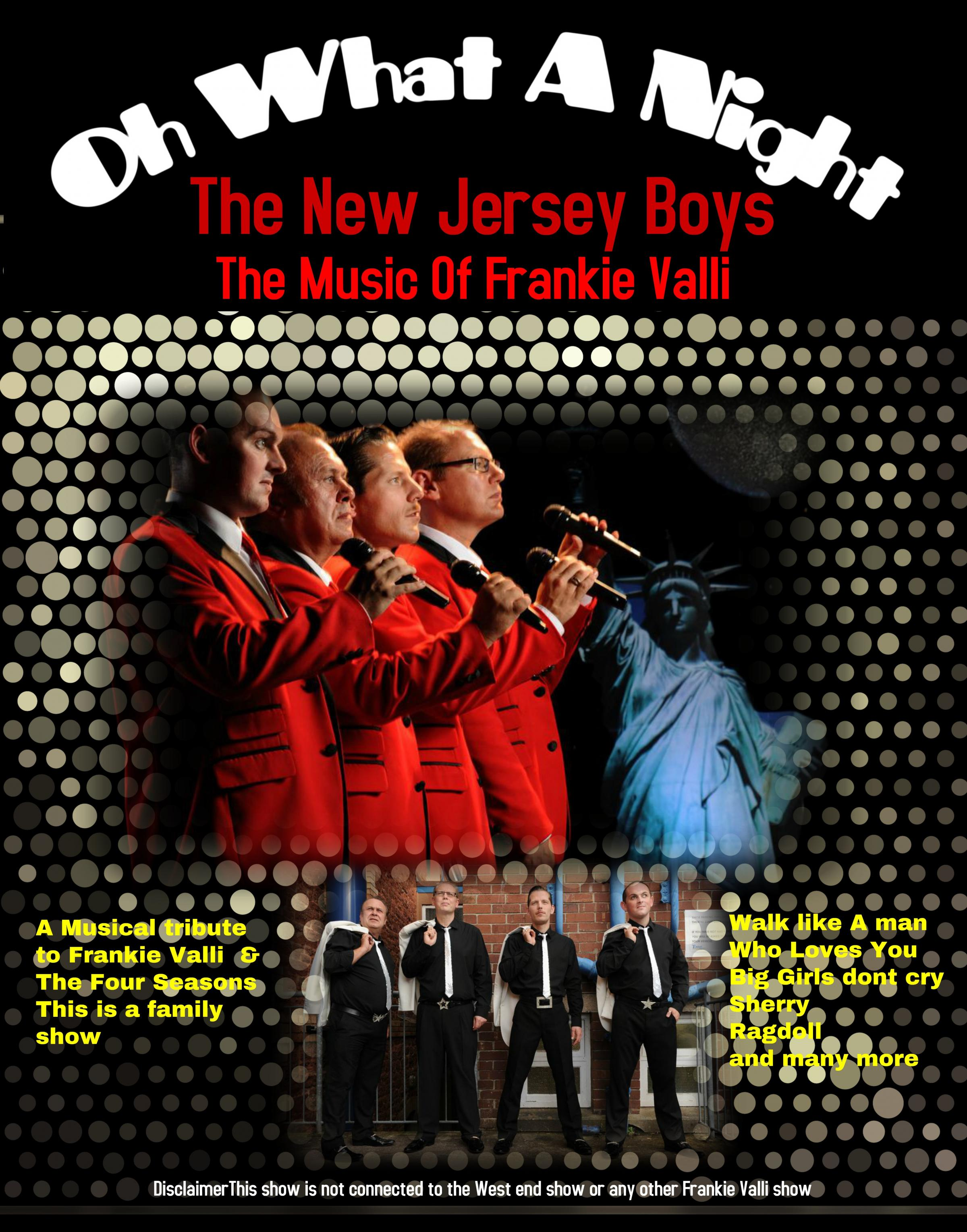 The New Jersey Boys – The Music of Frankie Valli