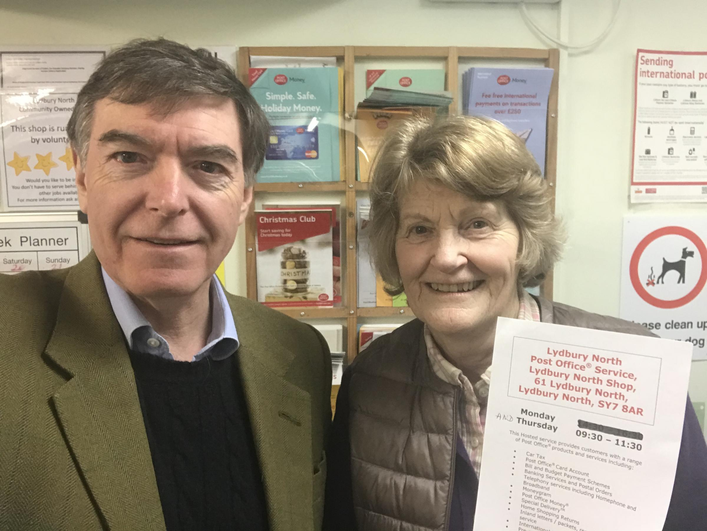 Philip Dunne MP at Lydbury North
