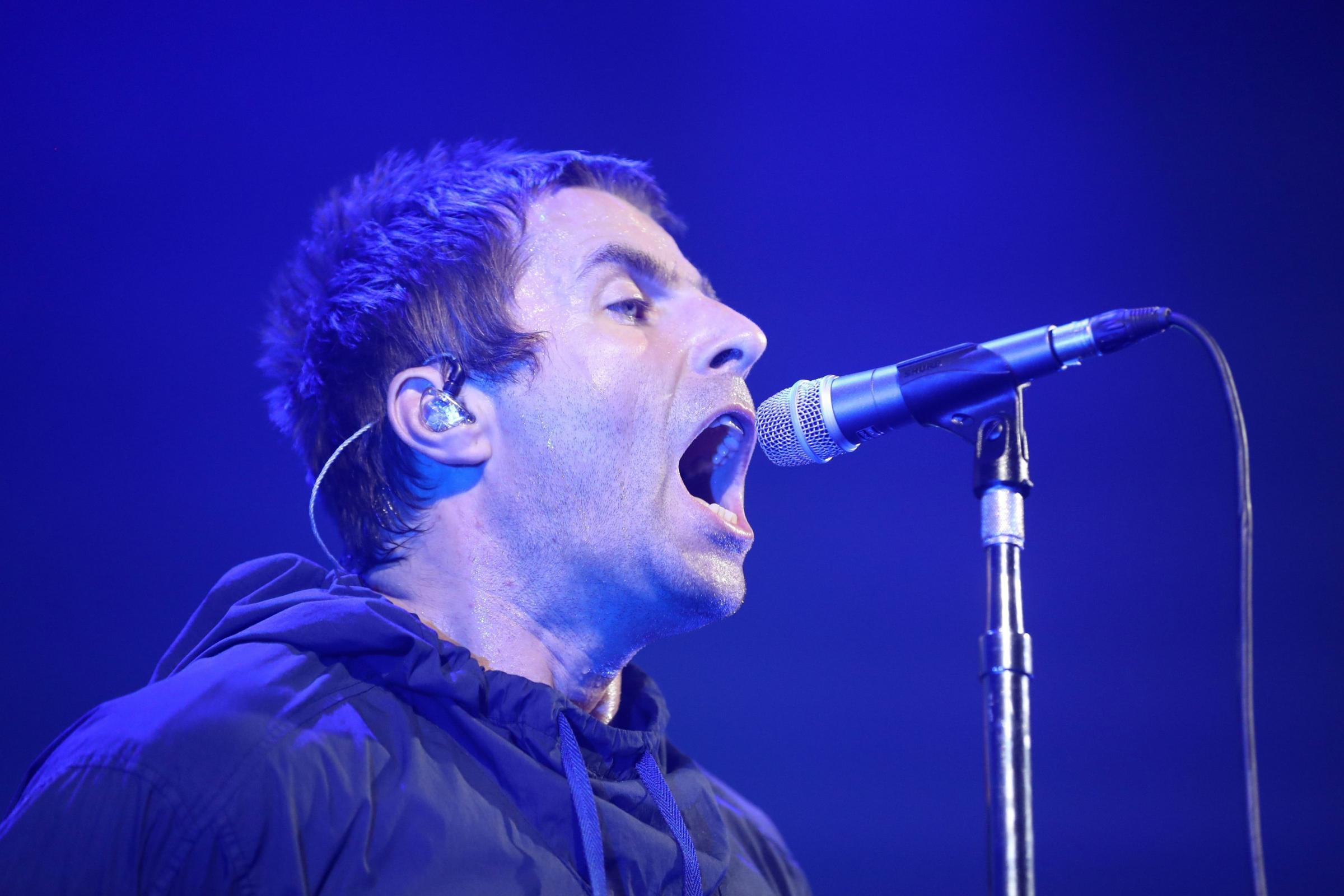 Liam Gallagher on same festival bill as brother Noel – but at different venues (Owen Humphreys/PA)