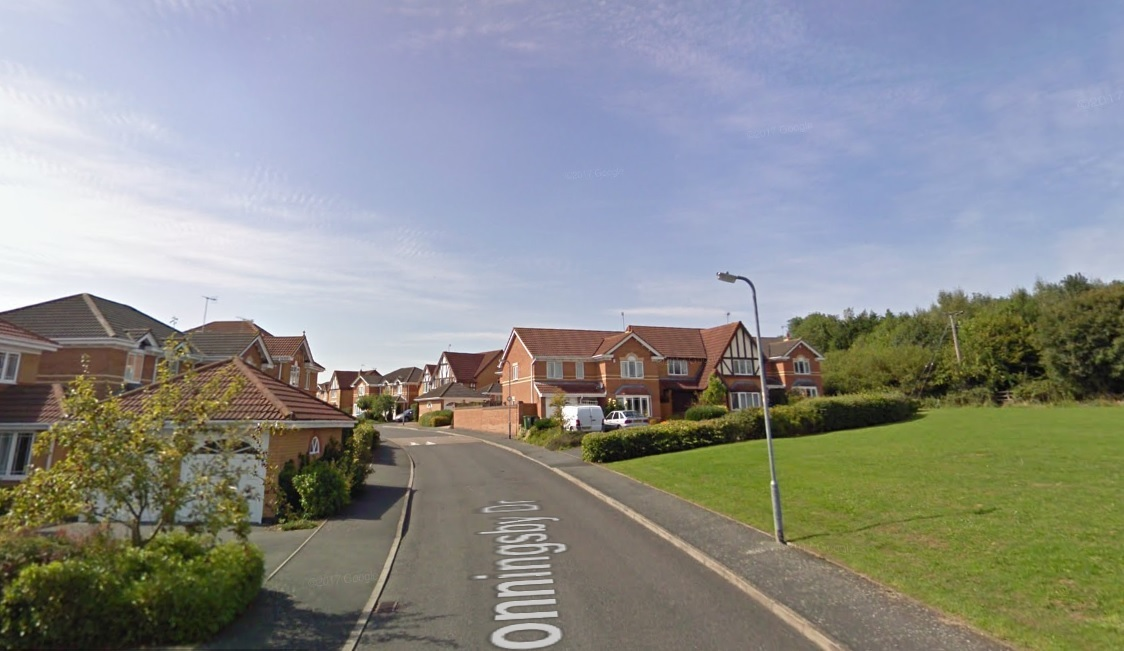 Conningsby Drive, Pershore. Photo: Google Street View