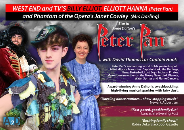 Open Auditions Peter Pan the Musical